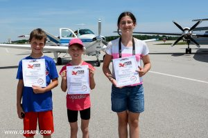3 kids and certificates